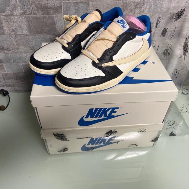 NIKE(ナイキ)のTRAVIS SCOTT×FRAGMENT×NIKE AIR JORDAN 1 メンズの靴/シューズ(スニーカー)の商品写真