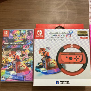 Nintendo Switch - マリオカート8 デラックスとハンドルセット