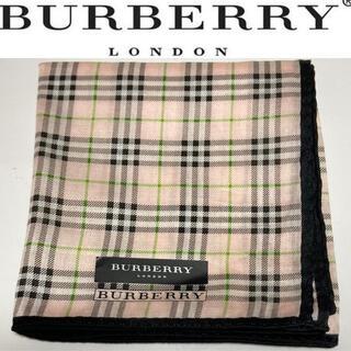 BURBERRY - BURBERRY LONDON ハンカチ バーバリー 新品 ノバチェック
