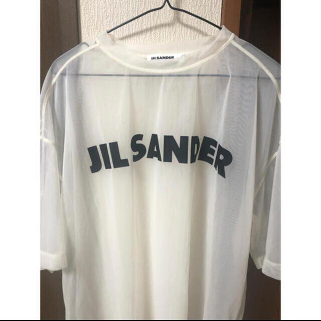 Jil Sander(ジルサンダー)のジルサンダー シースルーTシャツ メンズのトップス(Tシャツ/カットソー(半袖/袖なし))の商品写真