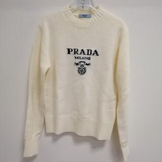 PRADA - ステキ高品質 ★プラダ☆ 男女兼用 セーター白 M