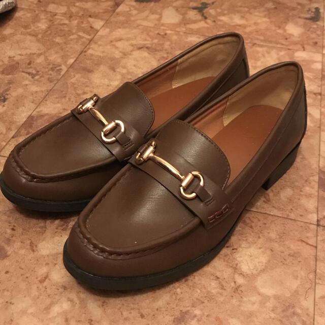 GU(ジーユー)のGU  ビットローファー ブラウン レディースの靴/シューズ(ローファー/革靴)の商品写真