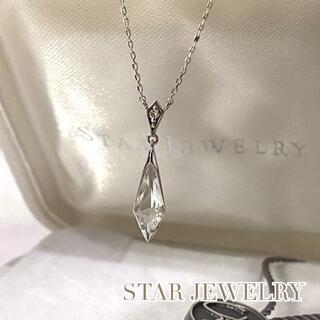 STAR JEWELRY - スタージュエリー PRISM ネックレス K18WG