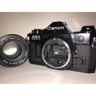 Canon - 美品Canon AE-1 PROGRAM+美品FD50mm F1.4 S.S.C