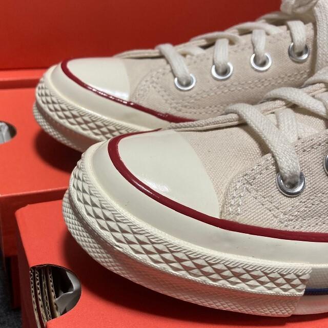 CONVERSE(コンバース)のCT70 チャックテイラー 162062C 生成り 三ツ星 24.5 US6 レディースの靴/シューズ(スニーカー)の商品写真