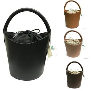 ドゥーズィエムクラス(DEUXIEME CLASSE)のMilos バケツバッグ 黒 iena(ハンドバッグ)
