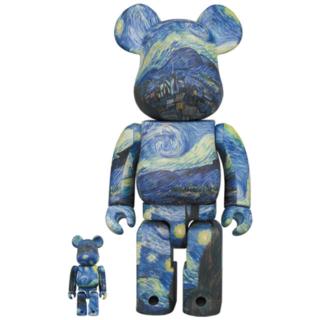 メディコムトイ(MEDICOM TOY)のBE@RBRICK Gogh 100% & 400% ゴッホ ベアブリック(人形)