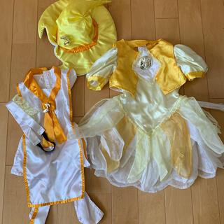 BANDAI - もーっとおジャ魔女どれみ ももちゃん 衣装 リバーシブルドレス