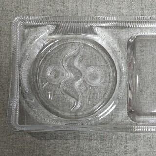 ガラス 灰皿 太陽の塔 岡本太郎 昭和レトロ (彫刻/オブジェ)