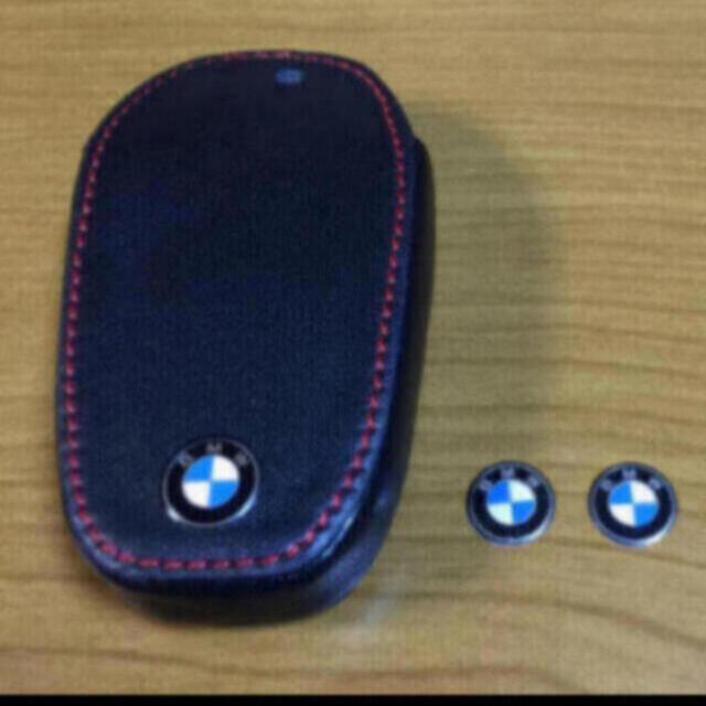 BMW(ビーエムダブリュー)のBMW☆ロゴエンブレム 11mm☆3個 自動車/バイクの自動車(車種別パーツ)の商品写真