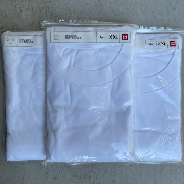 UNIQLO(ユニクロ)のUNIQLO クルーネックT 3枚 メンズのトップス(Tシャツ/カットソー(半袖/袖なし))の商品写真
