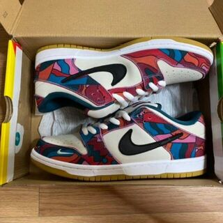 Parra × Nike SB Dunk Low Pro(スツール)