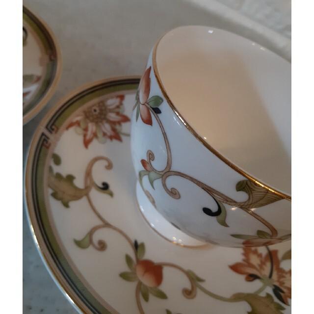 WEDGWOOD(ウェッジウッド)のウェッジウッド オベロン カップとソーサー ペア インテリア/住まい/日用品のキッチン/食器(グラス/カップ)の商品写真