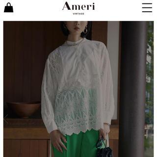 Ameri VINTAGE - レースドレスシャツ