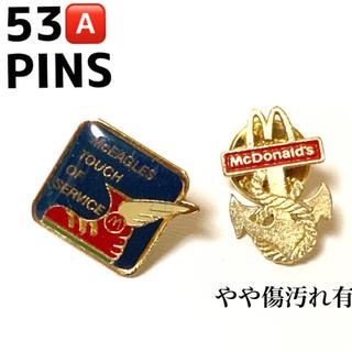 NO.53  ピンバッジ マクドナルド 2種セット