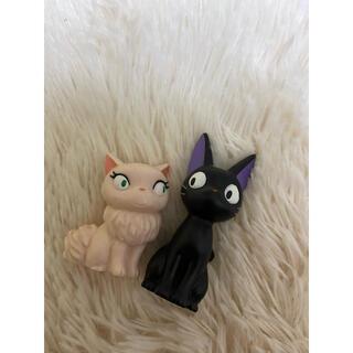 ジブリ - スタジオジブリ 魔女の宅急便 ジジ 指人形 フィギュア ジジの彼女 ネコ 黒猫