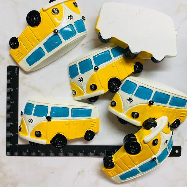 1.デコパーツ スクールバス ハンドメイドの素材/材料(各種パーツ)の商品写真