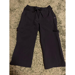 アディダス(adidas)のアディダス 黒 パンツ 7部丈 Lサイズ(その他)