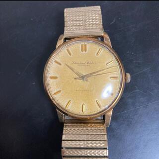インターナショナルウォッチカンパニー(IWC)の希少 IWC 金無垢 メンズ 腕時計(腕時計(アナログ))