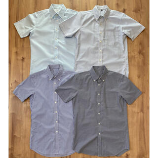 UNIQLO - UNIQLO・無印良品 半袖シャツ 4枚セット