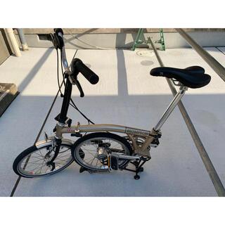 ブロンプトン折り畳み自転車