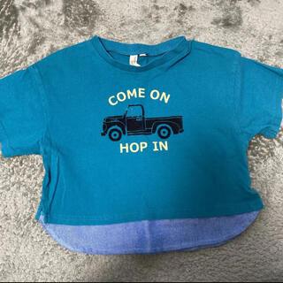 ラーゴム(LAGOM)のSamansa Mos2 Lagom 重ね着風Tシャツ 95㎝(Tシャツ/カットソー)