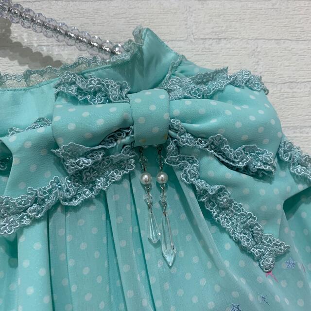 Angelic Pretty(アンジェリックプリティー)のアンジェリックプリティ KERAコラボ 人魚 スカート レディースのスカート(ひざ丈スカート)の商品写真