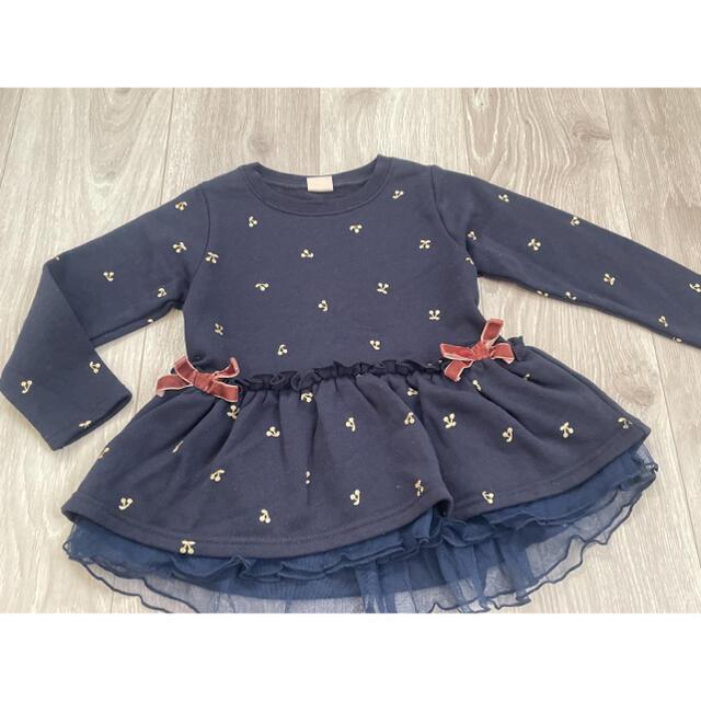 petit main(プティマイン)のトップス プティマイン キッズ/ベビー/マタニティのキッズ服女の子用(90cm~)(Tシャツ/カットソー)の商品写真