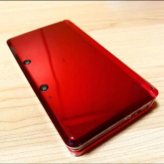 ニンテンドー3DS - 動作確認済み⭐️任天堂3DS本体[メタリックレッド]