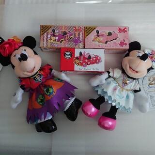 Disney - ディズニーランドハロウィンぬいば  ディズニーシー20周年ぬいば  ミニーマウス