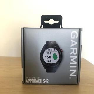 GARMIN - 【新品未使用】GARMIN ガーミン アプローチS42