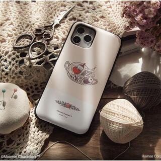 アイフォーン(iPhone)の【美品】iPhone 12 mini ムーミン MOOMIN ケース カバー(iPhoneケース)