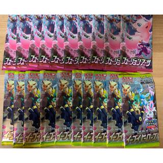 ポケモン - ポケモンカード イーブイヒーローズ フュージョンアーツ 10パック セット