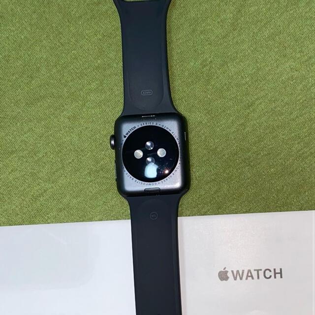Apple Watch(アップルウォッチ)の【かっちゃんさん専用】Apple Watch series3 42mm GPS スマホ/家電/カメラのスマートフォン/携帯電話(その他)の商品写真