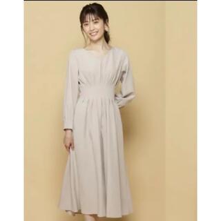 And Couture - 新品未使用 アンドクチュール ウエストタック ワンピース フレアースカート