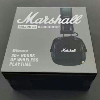 MARSHALL monitor 第3世代bluetoothワイヤレスヘッドホン