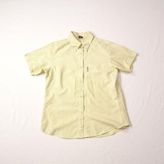 モンベル(mont bell)のmont-bell モンベル イエロー チェック 半袖シャツ(シャツ/ブラウス(半袖/袖なし))