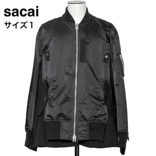 サカイ(sacai)の【完売品】sacai Wool Surge x Nylon Twill ブルゾン(ブルゾン)