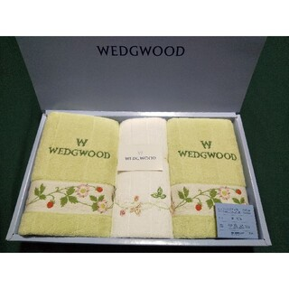 ウェッジウッド(WEDGWOOD)のウェッジウッド Wストロベリー フェイスタオル ウォッシュタオル 日本製(タオル/バス用品)