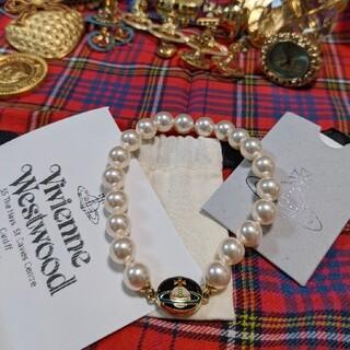 Vivienne Westwood - 国内未入荷 エナメルオーブ 新品未使用 パールブレスレット ヴィヴィアン