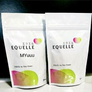 EQUELLE  エクエルパウチ  エクオール (120粒入) × ②袋