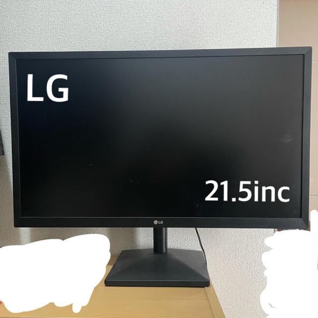 LG Electronics(エルジーエレクトロニクス)のLGモニター 21.5inc スマホ/家電/カメラのPC/タブレット(ディスプレイ)の商品写真