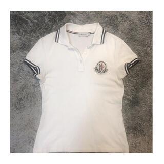 モンクレール(MONCLER)の美品! MONCLER モンクレール レディース 半袖 ポロシャツ XSサイズ(ポロシャツ)