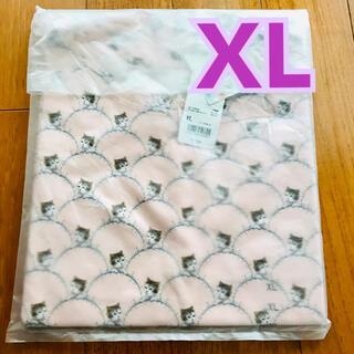 PAUL & JOE - ポール&ジョー かわいい猫ちゃん柄のTシャツ ピンク XLサイズ 新品未使用