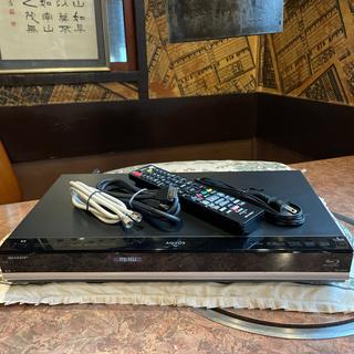 SHARP - SHARP BD-W570 12倍録 500GB リモコン等付フル装備 完動品!