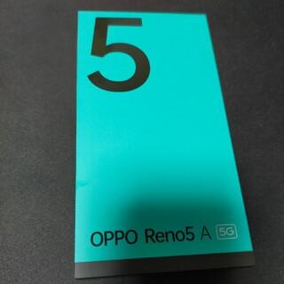 【美品】SIMフリー OPPO Reno5A Ymobile版