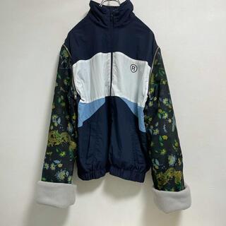 ラフシモンズ(RAF SIMONS)のMartine Rose track jacket(ナイロンジャケット)