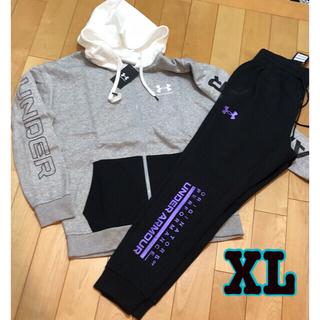 UNDER ARMOUR - アンダーアーマー  メンズ フルジップパーカー➕ジョガーパンツ XL