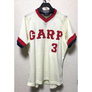 ミズノ(MIZUNO)の美品 未使用 広島 カープ 衣笠 1977 1987ユニフォーム 3 ミズノ(応援グッズ)