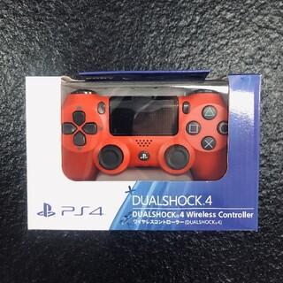 PlayStation4 - 【 新品】PS4 ワイヤレスコントローラー 純正 赤 S